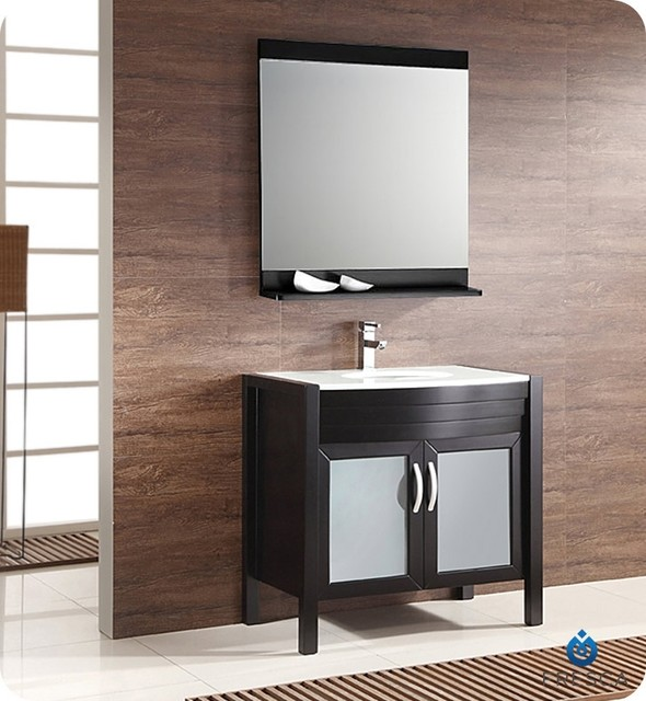 """Fresca Infinito 36"""" Modern Bathroom Vanity W Medicine. Small Stand Up Shower. Oversized Lounge Chair. Black Lacquer Coffee Table. Microwave Drawer In Island. Round Expanding Table. Iron Coat Rack. Contemporary Electric Fireplace. Amisco"""