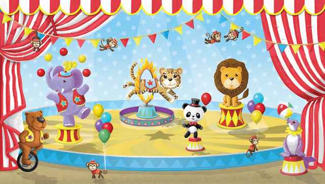 Circus Mural Traditional Baby And Kids New York By