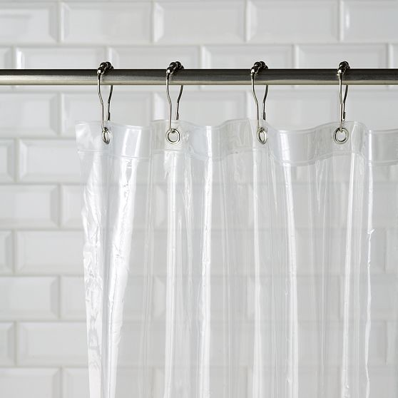 Eco Shower Curtain Liner Modern Shower Curtains By West Elm
