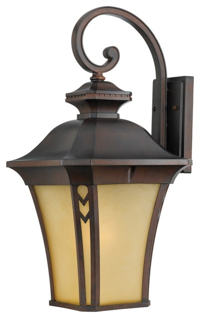 "Country - Cottage Norfolk Collection Bronze 25"" High Outdoor Wall Light traditional outdoor lighting"