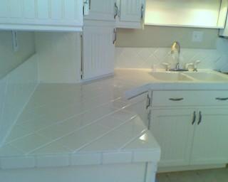 Bathtub & Tile Refinishing - Traditional - Kitchen Countertops - san francisco - by J&S Tub ...