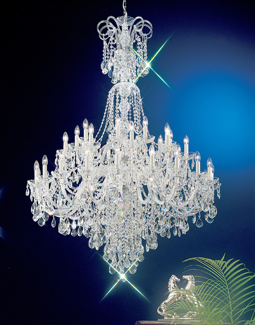 Bohemian Crystal Chandelier traditional-chandeliers
