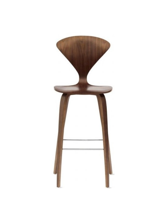 Cherner Chair Company - Cherner Counter Stool | DWR - Norman Cherner first designed his iconic chair in 1958. A bunch of drama, thieving and suing happened, and eventually production of the chair was scrapped. Luckily, Norman's sons have put the chair back into production, and design fans are snapping it up as quickly as they can.