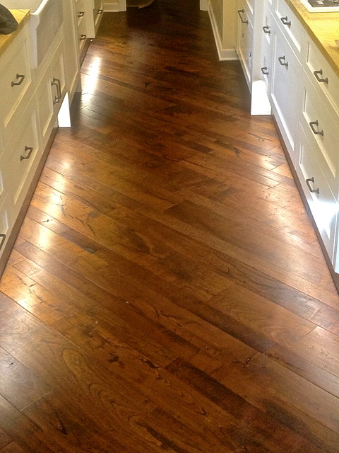 Native Texas Mesquite Modern Hardwood Flooring