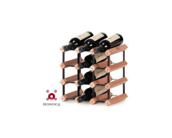 Bordex 12 Bottle Wine Rack Kit -