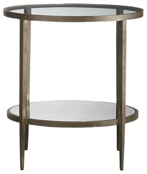 Clairemont Side Table | Crate&Barrel eclectic-side-tables-and-end-tables