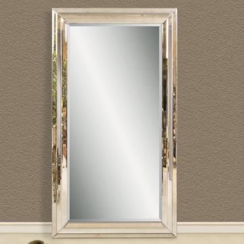 Modern Venetian Leaning Floor Mirror - 47W x 83H in ...