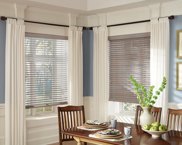 Parkland™ Genuine Real Wood Blinds - Hunter Douglas® Window Treatments window-blinds