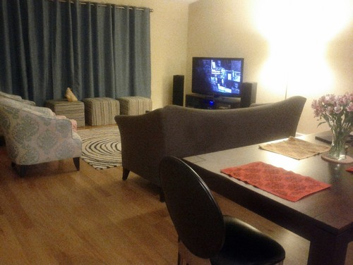 Mixing leather and fabric - Mixing leather and fabric living room ...