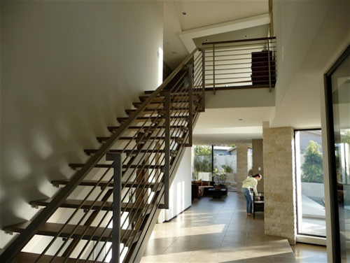 PRIVATE RESIDENCE, SEAL BEACH contemporary-staircase