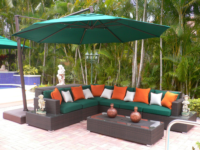 Enhancing outdoor spaces modern patio furniture and for Outdoor furniture miami