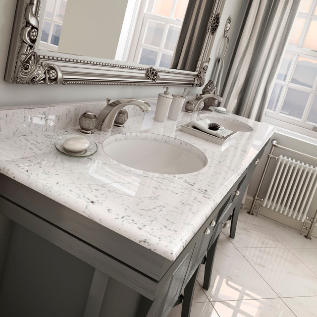 Carstin brands tyvarian vanity top cultured marble traditional bath products other - Cultured marble bathroom vanity tops ...
