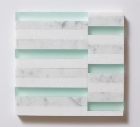 Matchsticks - Bianca Carrara, Thassos, Aegean modern-tile