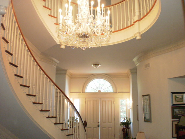 Grand Foyer Lighting : Grand foyers traditional chandeliers raleigh by
