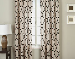 Blindsgalore Signature Drapery Panel: Natura traditional-curtains