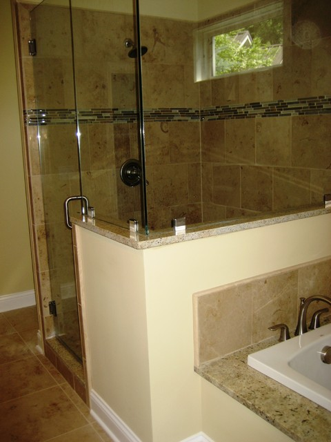 Master bath traditional bathroom other metro by for Periwinkle bathroom ideas