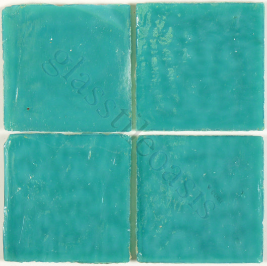 """Kelly Green-Sold By The Box 2"""" x 2"""" Green 2"""" x 2"""" Opaque Glossy Glass modern-tile"""