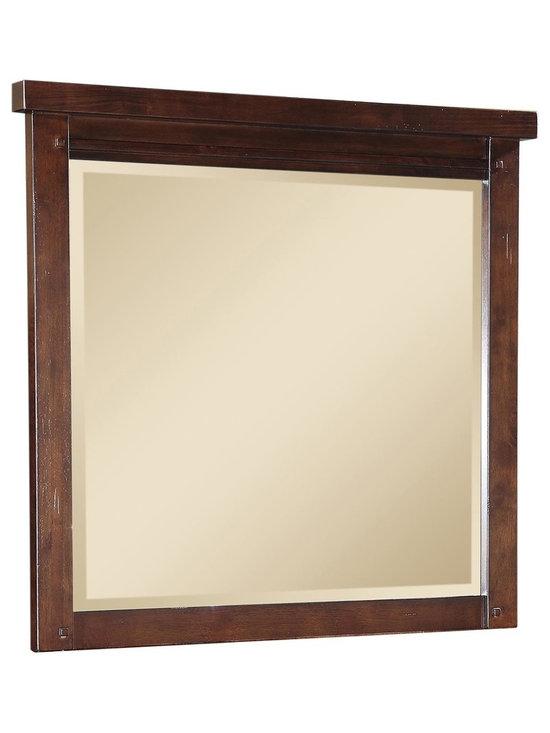 Sonoma Dresser Mirror - Beveled mirror. Photo: Jerome's Furniture