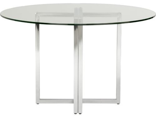 Silverado Round Dining Table Modern Tables By CB2