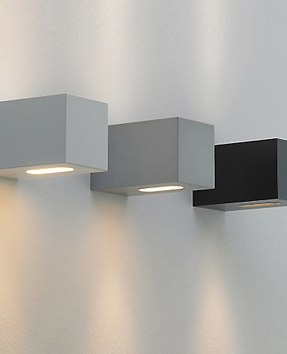 Modern Interior Wall Sconces : F Sign - qp90 square outdoor wall sconce - Modern - Wall Sconces - by Interior Deluxe