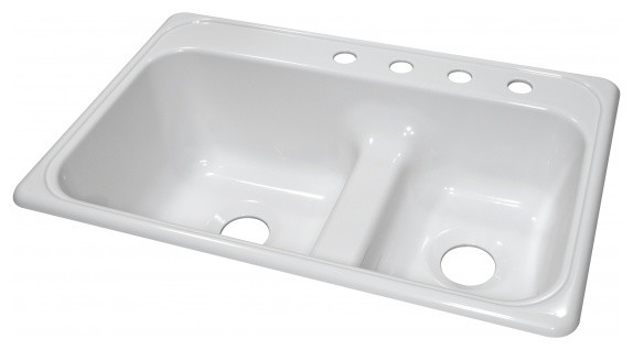Lyons Deluxe DKS01LD-3.5 Acrylic Kitchen Sink modern-kitchen-sinks