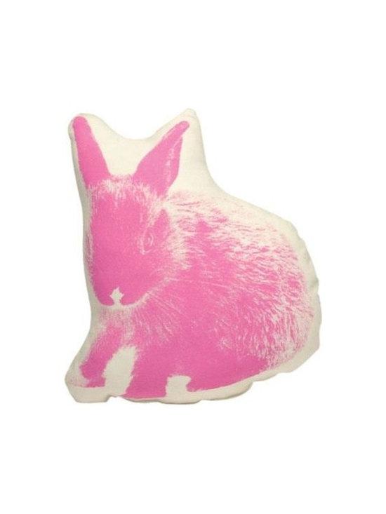 Pico Bunny Pillow, Pink -
