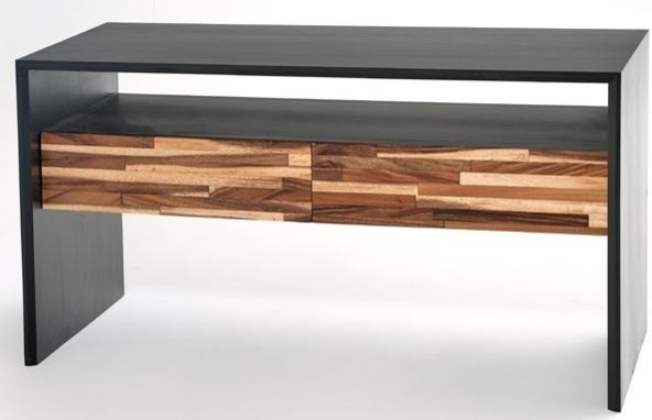 Contemporary Rustic Entertainment Center contemporary-furniture