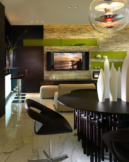 Miami Beach - Apartment by PepeCalderindesign - Miami interior designers -Modern contemporary-family-room