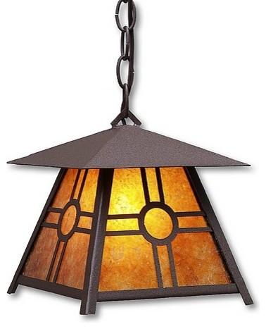 Southview Art: Smoky Mtn Pendant Small eclectic-pendant-lighting