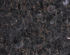 Brown Imperial Polished Granite traditional-kitchen-countertops