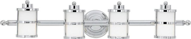 4 Light Bath Fixture modern-bathroom-vanity-lighting