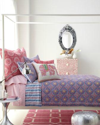 """""""Tolin"""" Ben Linens eclectic-bedding"""