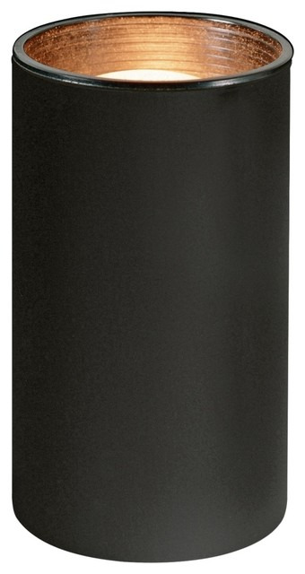 Contemporary Compact Fluorescent Black Can Mini Accent Light contemporary-lighting