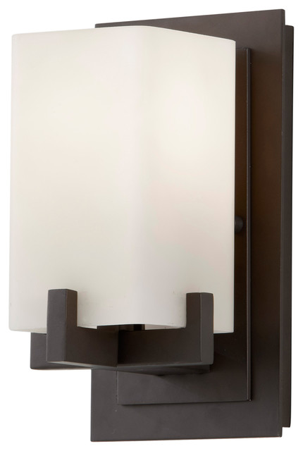 Feiss VS18401-ORB Riva Oil Rubbed Bronze Wall Sconce - Contemporary - Wall Sconces - by Littman ...