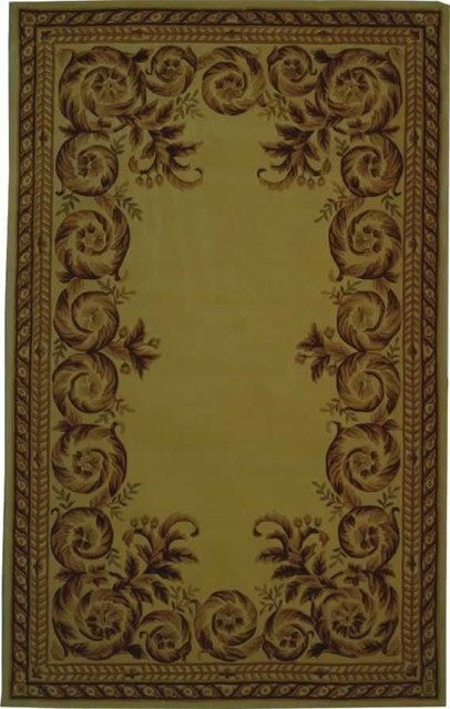 Safavieh Naples NA707A (Ivory, Brown) 5' x 8' Rug contemporary-rugs
