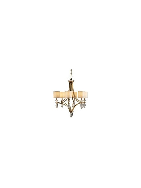 Currey and Company Sebastian Traditional Chandelier - CNC-9081 - Currey and Company Sebastian Traditional Chandelier - CNC-9081