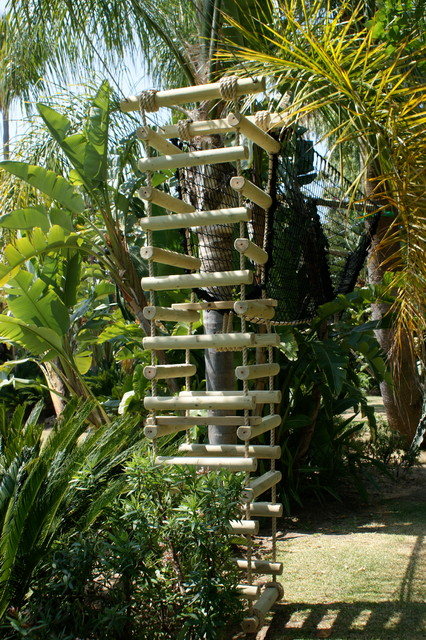 Palm Tree 4 Sided Rope Ladder Mediterranean London