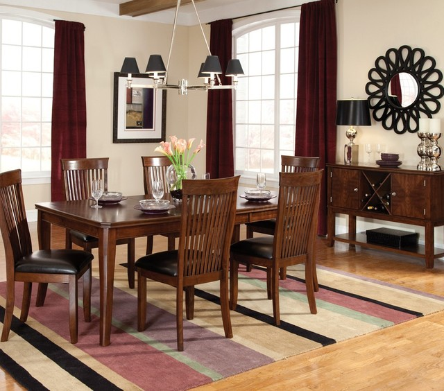 Standard Furniture Regency 8 Piece Dining Room Set Contemporary Dining Sets By Beyond Stores