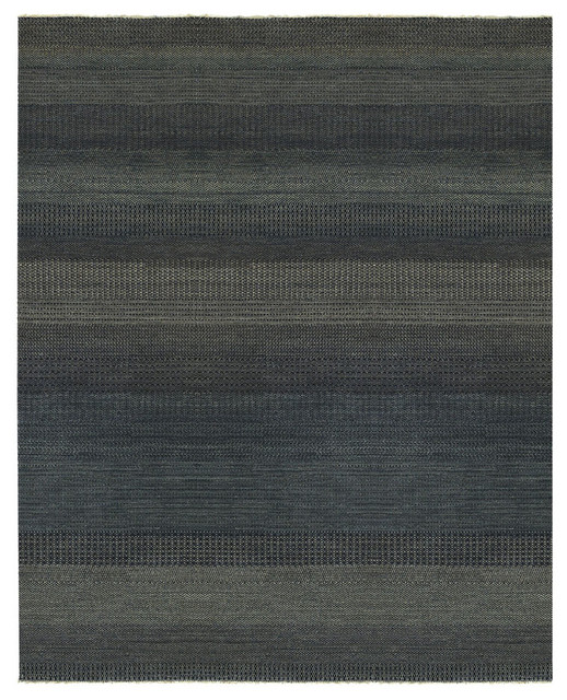 Barrister rug in Ink rugs