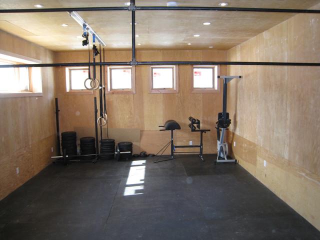 Custom West Coast Style Home - Saskatoon, SK traditional-home-gym