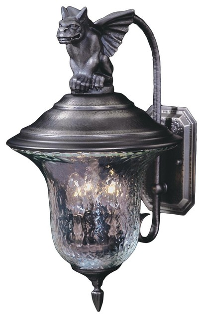 Gothic Gargoyle Outdoor Light Large Outdoor Lighting By Shades Of Light