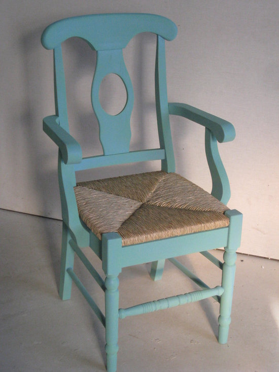 Eclectic Painted Dining Chair - Made by www.ecustomfinishes.com