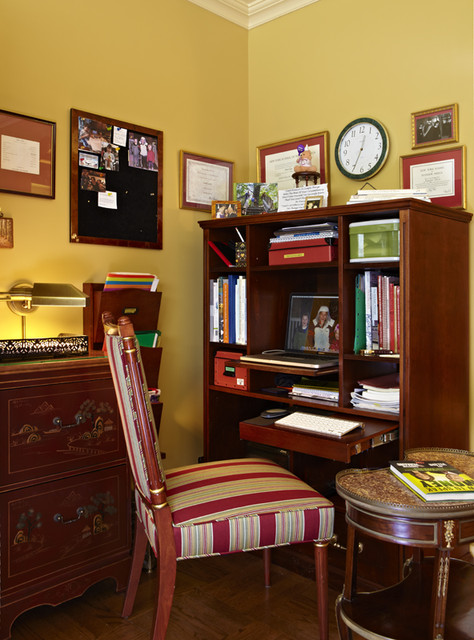 Revitalized Interiors traditional-home-office