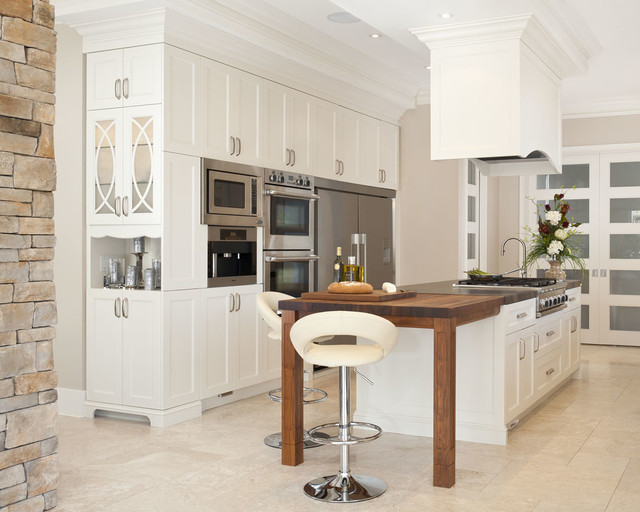 Kitchen Traditional Kitchen Cabinetry Montreal By Lys E
