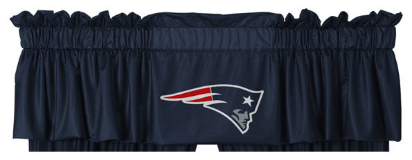 NFL New England Patriots Football Locker Room Valance