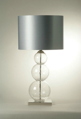 large crystal pasteur lamp modern table lamps by. Black Bedroom Furniture Sets. Home Design Ideas