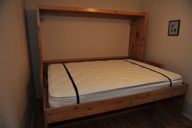Hidden Desk Bed Traditional Storage And Organization