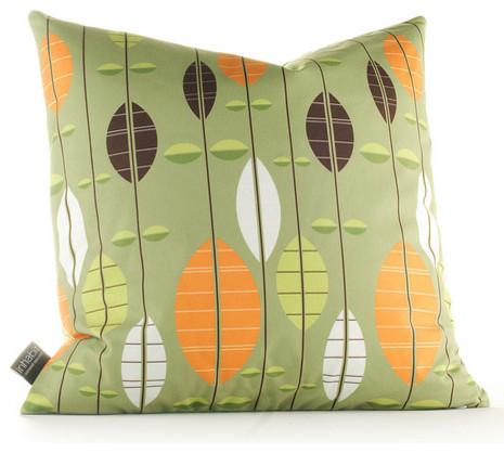 Aequorea Carousel Pillow in Grass modern-decorative-pillows
