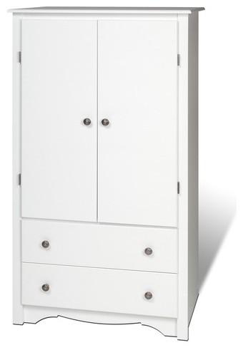 Sonoma Armoire modern-armoires-and-wardrobes