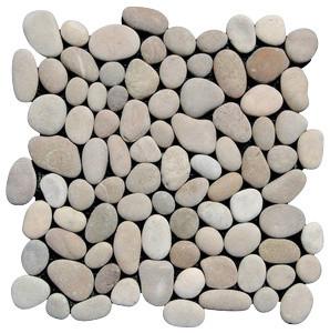 Tan Pebble Tile, 12x12 modern-floor-tiles